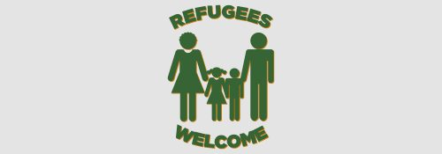 Refugees Welcome Logo – ohne Hänsel & Gretel Style