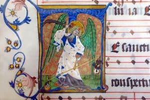 Buchmalerei - Mittelalterliches Grafikdesign der Kirchen