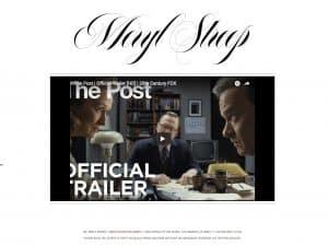 Webseite für Schauspieler erstellen: Meryl Streep