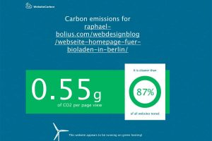 CO2 Produktion Raphael Bolius