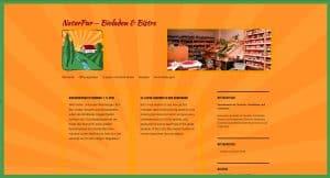 Homepage - Webseite für Bioladen neu