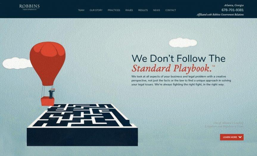 Webdesign Anwalt, Webdesign für Rechtsanwälte Bild 4