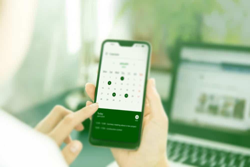Terminvergabe in einer digitalisierten Arztpraxis mit Telemedizin