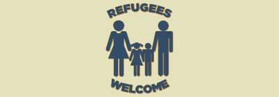 Refugees Welcome Logo Download