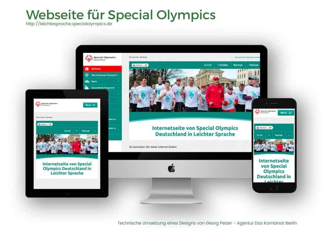 Referenzen Special Olympics
