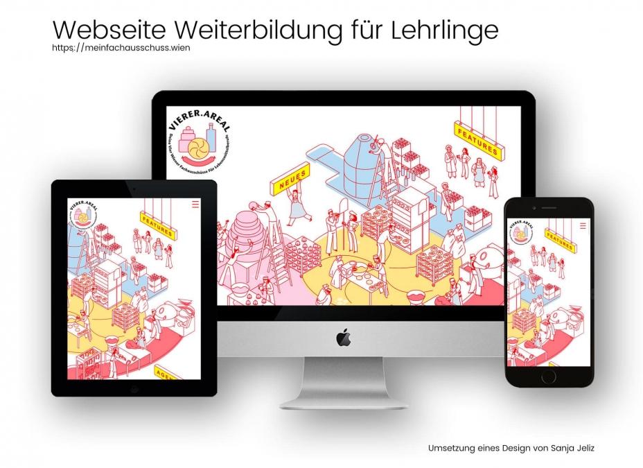 Webdesignreferenz Arbeiterkammer Wien