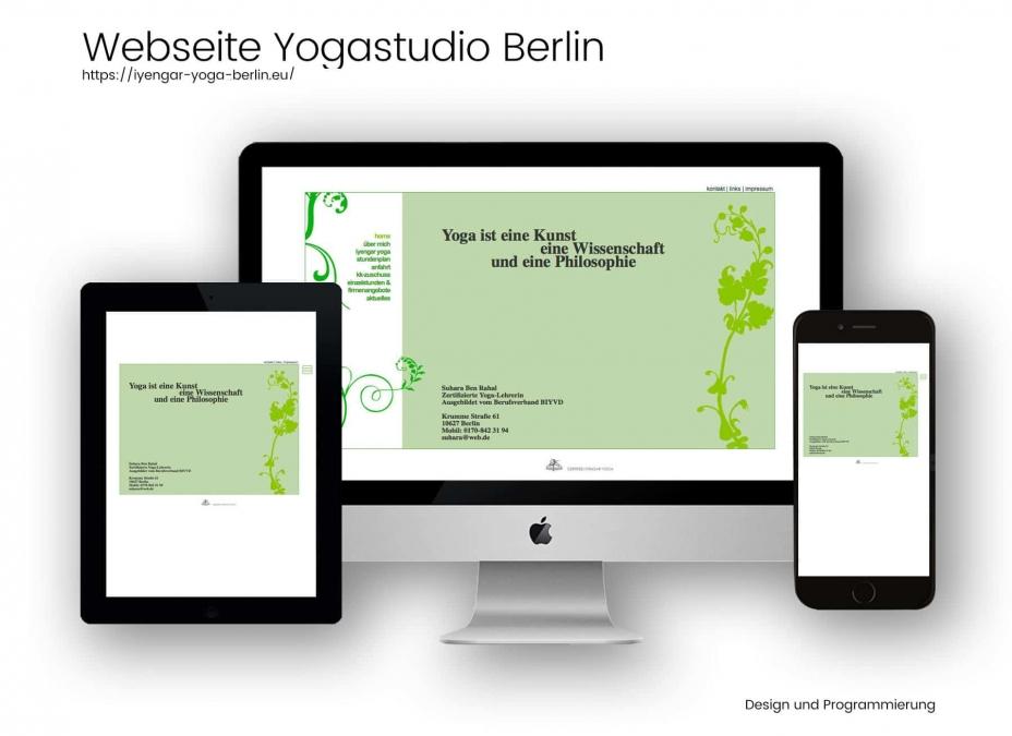 Referenz Iyengar Yogastudio Berlin